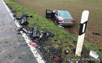 Zwei Schwerverletzte nach Unfall bei Schwaigern - Heilbronner Stimme