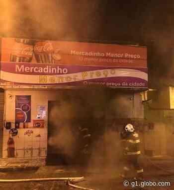 Incêndio provoca prejuízo em mercadinho em Santana do Ipanema, AL - G1