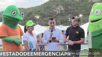 El equipo de Univision Puerto Rico lleva alegría y ayuda a damnificados en Peñuelas - Univision