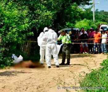 Policía investiga doble crimen en Planeta Rica, sur de Córdoba - El Universal - Colombia
