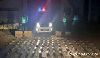 En Planeta Rica, Policía incauta 100 kilos de pólvora negra - Caracol Radio