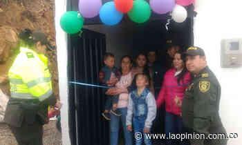 Le adelantaron el regalo de Navidad a familia en Mutiscua - La Opinión Cúcuta
