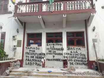 Pobladores de Chulumani denuncian corrupción y anuncian huelga de hambre en La Paz - Diario Pagina Siete