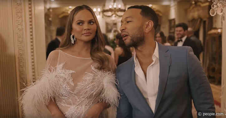 Chrissy Teigen and John Legend Shout Out His Sexiest Man Alive Title in Genesis' Super Bowl Ad
