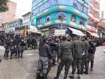Chulumani se llena de policías y dirigente denuncia persecución del Gobierno - Diario Pagina Siete