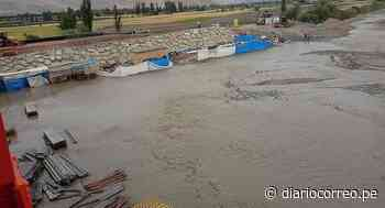 Puente del anexo El Toro en Cocachacra también fue afectado por crecida del río Tambo(FOTOS) - Diario Correo