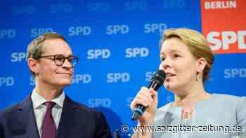 Nachfolge von Michael Müller: Giffey will Chefin der Berliner SPD werden