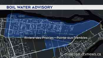 Boil water advisory lifted for RDP – Pointe-aux-Trembles and Montreal East - CTV News