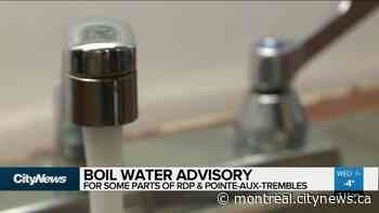 Boil Water advisory in RDP & Pointe-aux-Trembles - CityNews Montreal