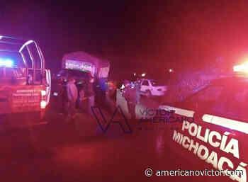 Chocan dos vehículos y reportan dos lesionadas en zitacuaro - www.americanovictor.com