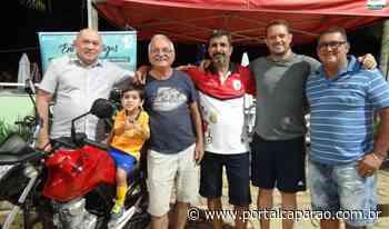 Moto é entregue para ganhador de sorteio no clube UBA Manhuaçu - Portal Caparaó