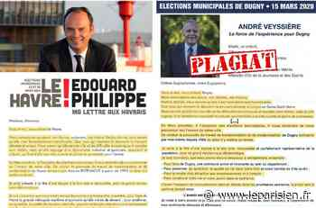 Seine-Saint-Denis : le maire de Dugny accusé d'avoir plagié la lettre de candidature… d'Edouard Philippe en 2014 - Le Parisien