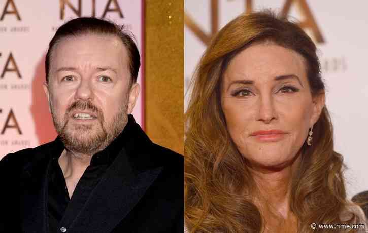 Ricky Gervais denies that he was snubbed by Caitlyn Jenner at NTAs
