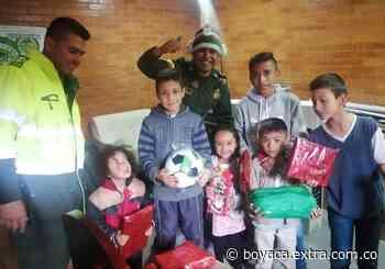 A los niños pobres les llegó su Navidad en Tausa - Extra Boyacá