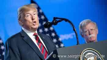 Zeugen im Impeachment-Prozess?: Trump greift Ex-Sicherheitsberater Bolton an