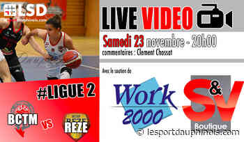 #Basket #Ligue2 Ce soir suivez le BCTM contre Reze en #LiveVIDEO sur LSD - LSD - LSD - Le sport dauphinois