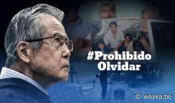 [GRÁFICA]: Fujimori y la masacre de Pativilca - Wayka