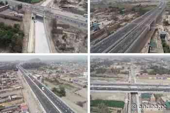Doble calzada en autopista Ancón- Huacho-Pativilca se pavimentó al 100 % - Agencia Andina