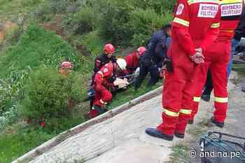 Despiste de vehículo en carretera Pativilca–Huaraz deja un muerto y dos heridos - Agencia Andina