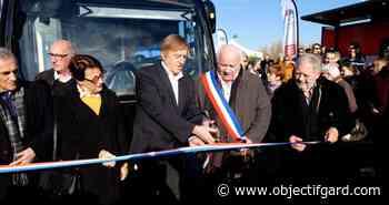 EN VIDÉO Caissargues : Tram'bus T1 : Cap au sud - Objectif Gard