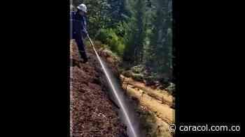 Bomberos de El Carmen de Viboral previenen los incendios forestales - Caracol Radio
