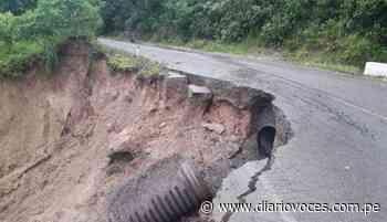 Carretera Moyobamba - Jepelacio a punto de colapsar - Diario Voces