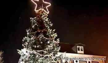 Kerstboom voor de Roskam in het licht - Alles over Katwijk
