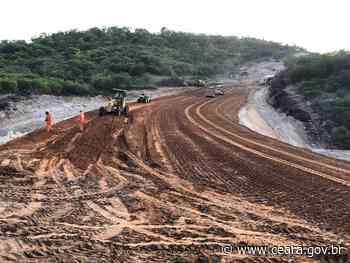 Mauriti: obras da CE-397 avançam - Ceará
