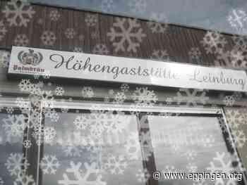 ▷ Leckeres auf der Höhengaststätte Leinburg - Eppingen.org