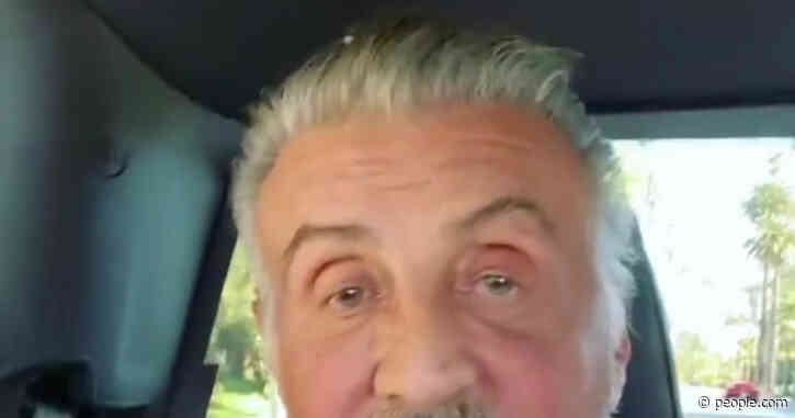 Sylvester Stallone Ditches the Dye to Debut Full Head of Gray Hair