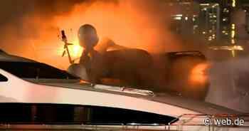 Luxusyacht von Marc Anthony geht in Flammen auf - WEB.DE News
