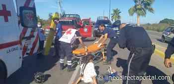 Policiaca: Accidentes en La Cruz de Elota dejan un herido y daños materiales - Linea Directa
