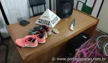 PM e PC recuperam materiais furtados em Manhumirim - Portal Caparaó