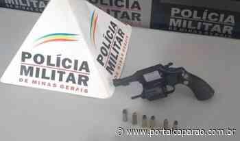 Arma de fogo apreendida no Centro de Manhumirim - Portal Caparaó