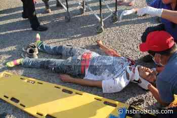 Grave accidente en la vía Cubarral - El Castillo   HSB Noticias - HSB Noticias