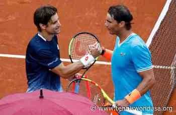 David Ferrer 'lucky' to count on Rafael Nadal in Barcelona - Tennis World USA