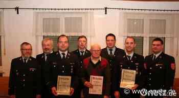 Ehrungen beim Kameradschaftsabend der Feuerwehr Schnaittenbach - Onetz.de