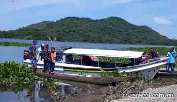 Como medida de reparación, entregan lancha en Tiquisio- Bolívar - Caracol Radio
