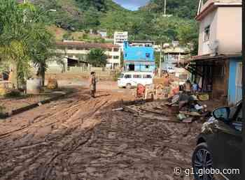 Cidade mineira de Espera Feliz tem mais de 1.500 desabrigados após temporal; prefeito diz que 'cidade acabou' - G1