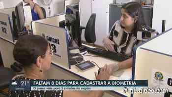 Prazo para biometria acaba dia 29 em Vargem Grande do Sul, Itobi, Caconde, Casa Branca e Tapiratiba - G1