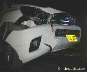Conductor los atropelló y escapó en la vía Girardot - Tocaima | HSB Noticias - HSB Noticias