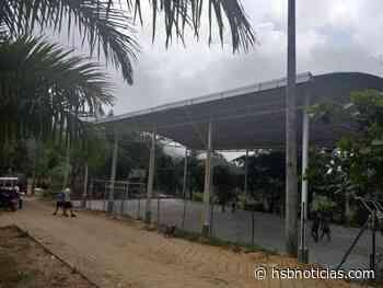 Inauguraron el polideportivo en Copó, Tocaima | HSB Noticias - HSB Noticias