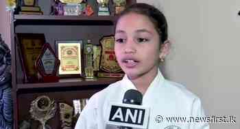 Indian girl shatters world records with martial arts and origamis - News 1st