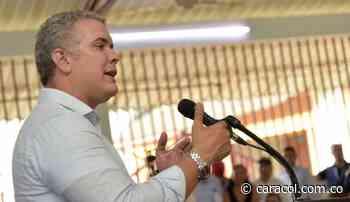 Presidente Duque proyecta visita a Tibú - Caracol Radio