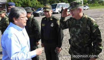 Mindefensa preside Consejo de Seguridad en Tibú - La Opinión Cúcuta