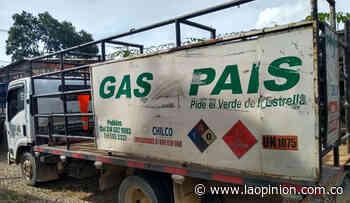 Recuperan en Tibú camión robado con bombonas de gas - La Opinión Cúcuta