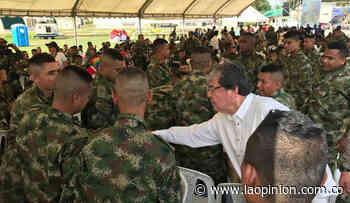 Ministro de Defensa llegó a Tibú para agradecer la labor de policías y soldados - La Opinión Cúcuta