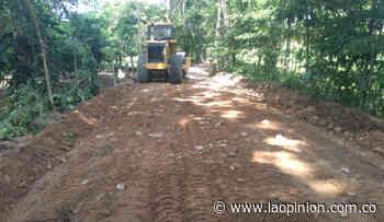 Avanza mejoramiento vial en zona rural de Tibú - La Opinión Cúcuta