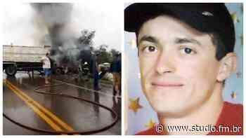 Identificado motorista vítima fatal de acidente na ERS 332 em Espumoso | Rádio Studio 87.7 FM - Rádio Studio 87.7 FM