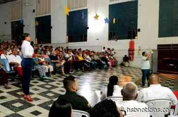 Yanit Mora rindió cuentas ante la comunidad de Agua de Dios   HSB Noticias - HSB Noticias